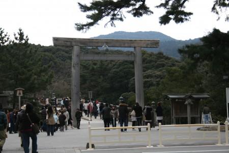 内宮への参道入口