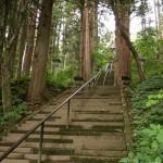 宝光社参道の階段